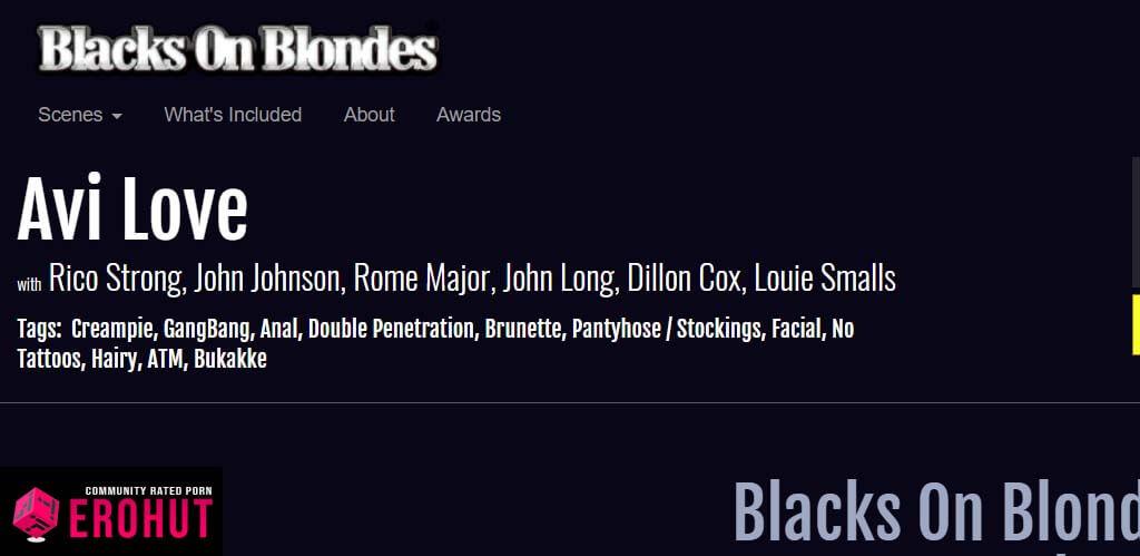 BlacksOnBlondes.com