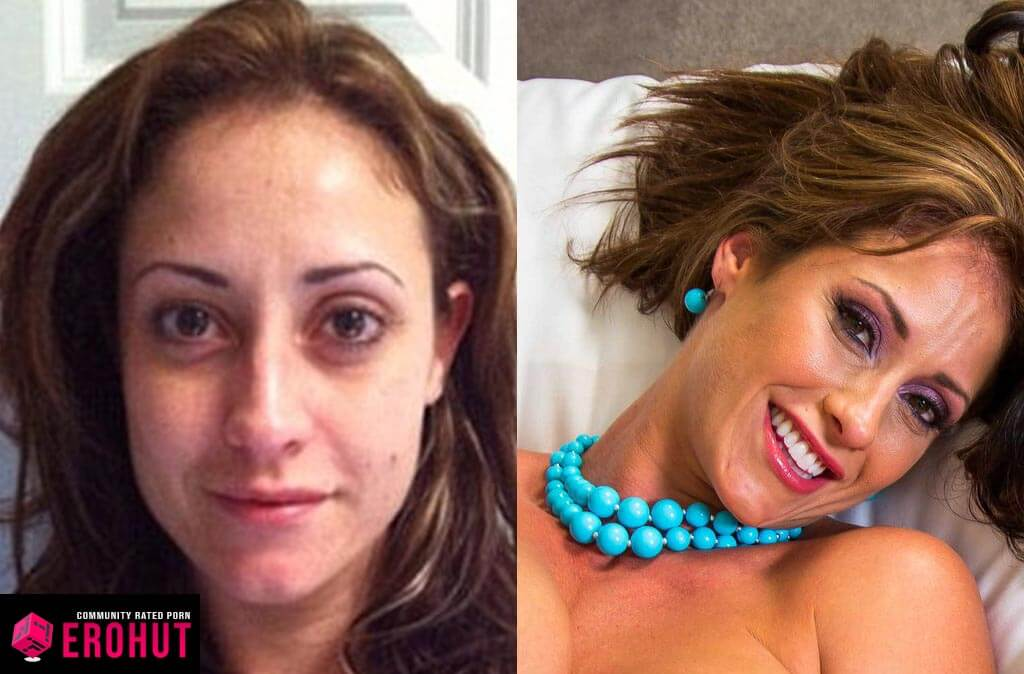 Eva Notty With and Without Makeup