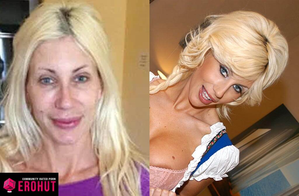 Puma Swede With and Without Makeup