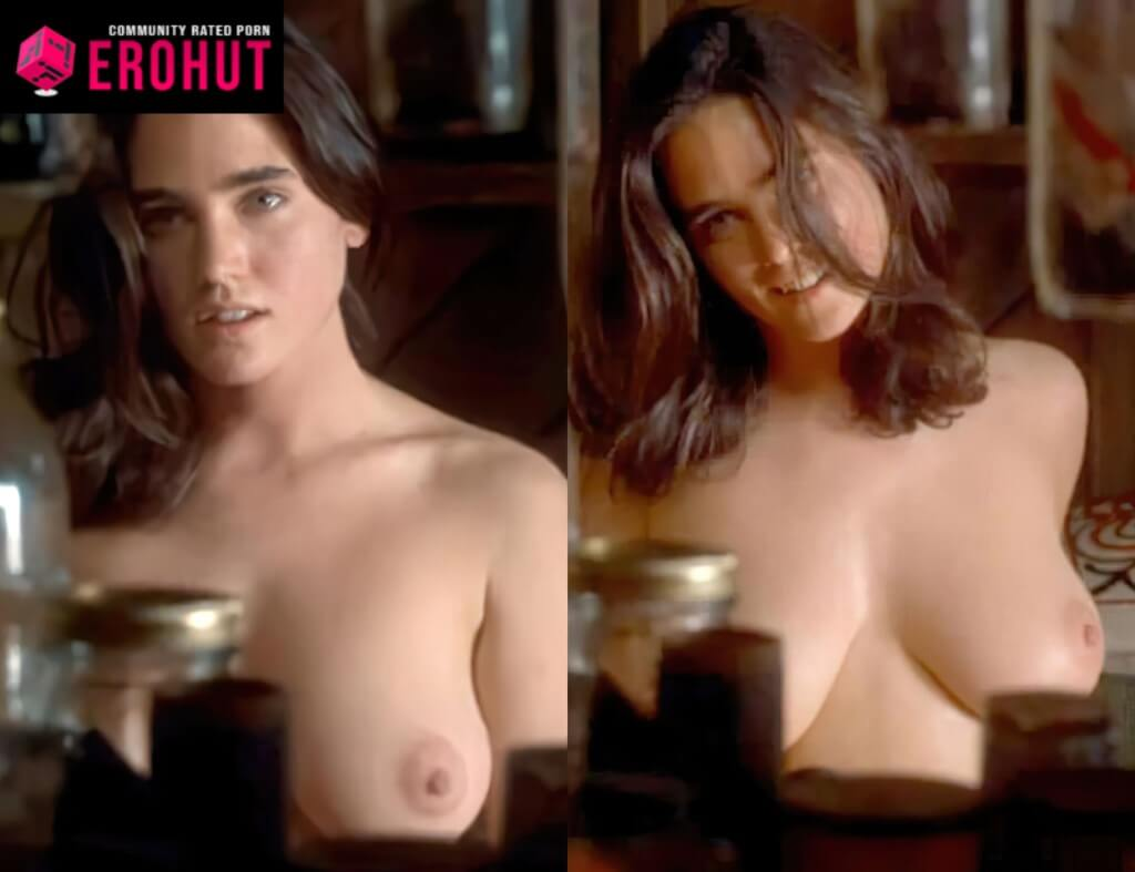 Jennifer Connely No Bra, Nipples