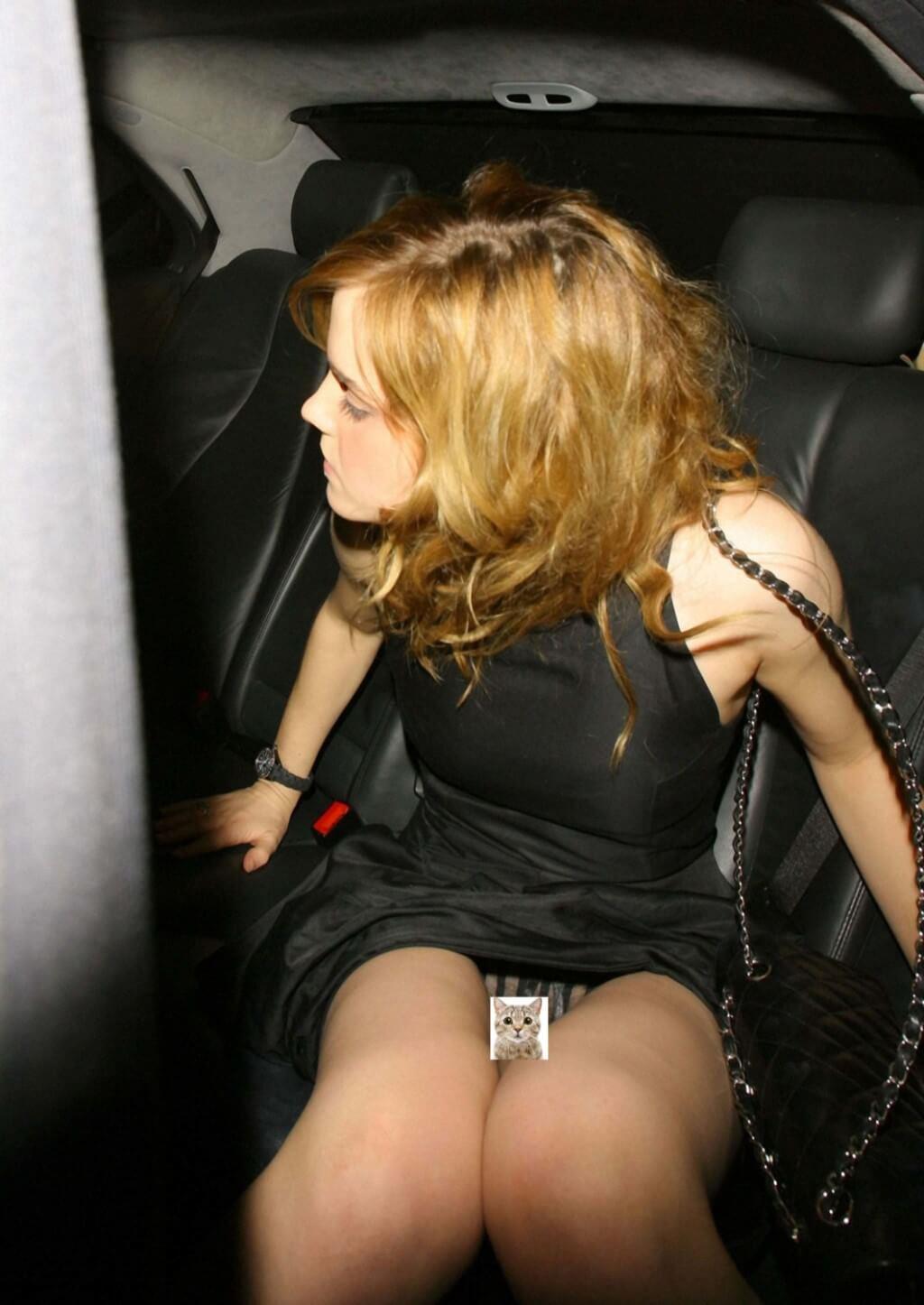 Emma Watson Pussy Upskirt
