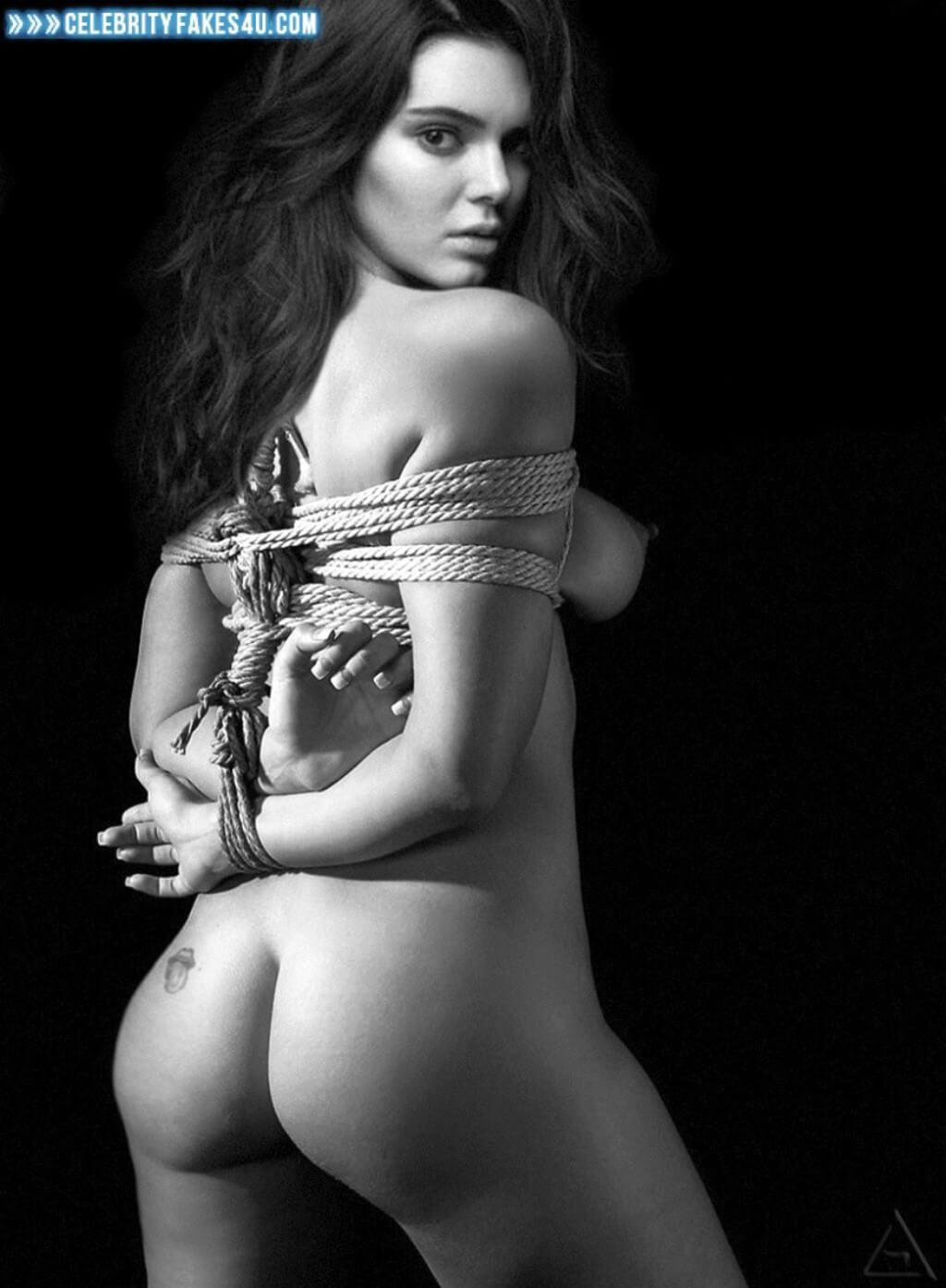 Kendall Jenner Naked Sideboob