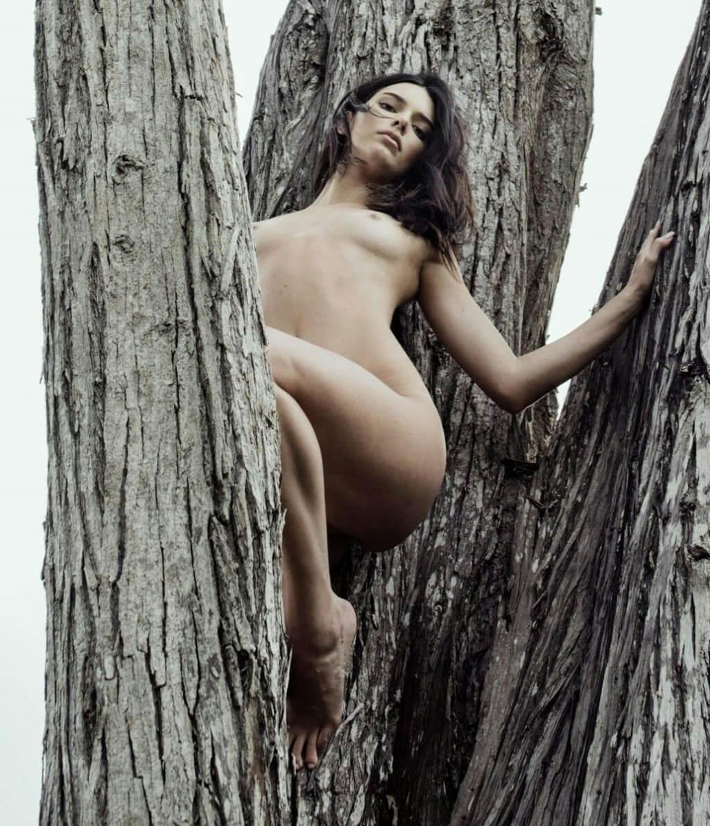 Kendall Jenner Nude Tree
