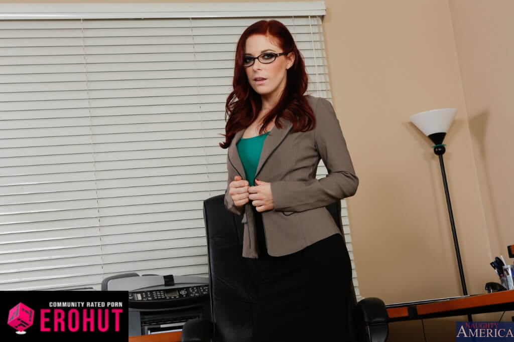 Penny Pax Pornstar with Glasses