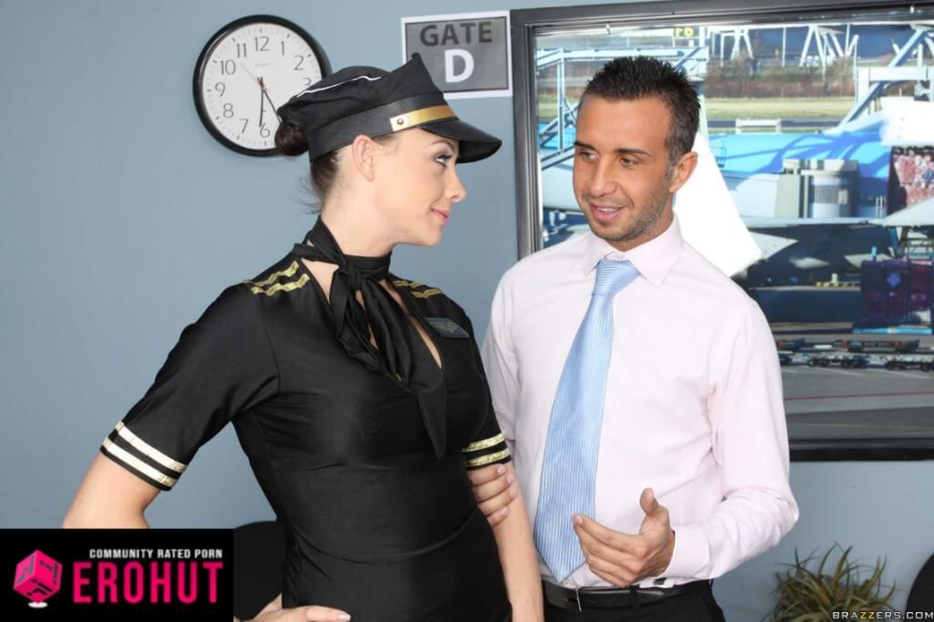 Chanel Preston Flight Attendant Pornstar