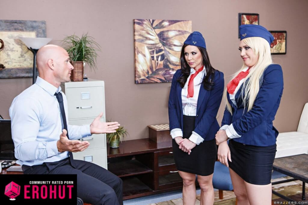 Kendra Lust Flight Attendant Pornstar